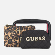Guess Women's Famous All-in-One Wash Bag - Black