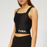 Puma Women's Chase Crop Top - Puma Black