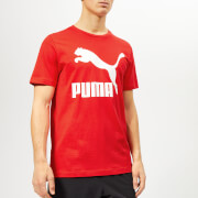 Puma Men's Classics Logo Short Sleeve T-Shirt - High Risk Red