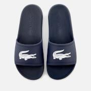 Lacoste Men's Croco Slide 119 1 Sandals - Navy/White
