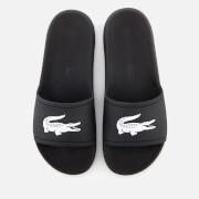 Lacoste Men's Croco Slide 119 1 Sandals - Black/White