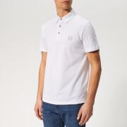 Armani Exchange Men's Small Logo Polo Shirt - White
