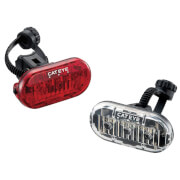 Cateye Front and Rear Omni 3 TL/LD135 LED Bicycle Light Set