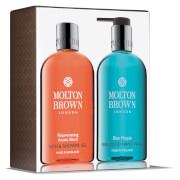 Molton Brown Rejuvenating Arctic Birch and Blue Maquis Hand & Body Set