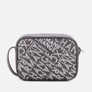 Armani Exchange Women's Small Logo Cross Body Bag - Anthracite/Argento