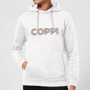 Summit Finish Coppi - Rider Name Hoodie - White