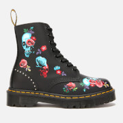 Dr. Martens Women's 1460 Bex Rose 8-Eye Boots - Rose Fantasy Placement