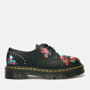 Dr. Martens Women's 1461 Bex Rode 3-Eye Shoes - Rose Fantasy Placement