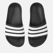 adidas Kids' Adilette Aqua Slide Sandals - Black