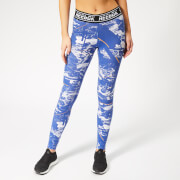 Reebok Women's MYT Dot Alt Tights - Blue Print