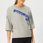 Reebok Women's Meet You There Graphic Short Sleeve T-Shirt - Grey