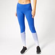 Reebok Women's CrossFit Lux Tights - Fade - Blue
