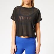 Reebok Women's CrossFit Jacquard Short Sleeve T-Shirt - Black