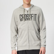 Reebok Men's Crossfit Zip Hoodie - Grey Heather