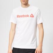 Reebok Men's Linear Short Sleeve T-Shirt - White