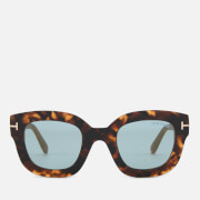 Tom Ford Women's Pia Sunglasses - Havana/Blue Mirror