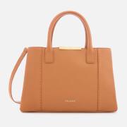 Ted Baker Women's Colesa Soft Grain Faceted Bar Small Tote Bag - Tan