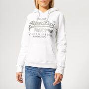 Superdry Women's Prem Goods Luxury Infill Entry Hoody - Optic