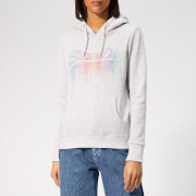 Superdry Women's V Logo Cascade Entry Hoody - Ice Marl
