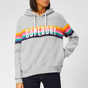 Superdry Women's Carly Carnival Hoody - Pebble Grey Marl