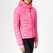 Superdry Women's Fuji Slim Double Zip Jacket - Pink Marl