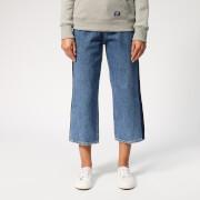 Superdry Women's Phoebe Wide Leg Jeans - Granite Blue