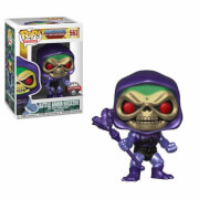 Masters of the Universe - Skeletor con Armatura Metallizzata Figura Pop! Vinyl Esclusiva