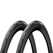 Continental Grand Prix 5000 Clincher Road Tyre Twin Pack - Black