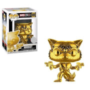 Figura Funko Pop! - Rocket Raccoon Oro Cromado - Marvel