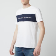 Tommy Hilfiger Men's Chest Logo T-Shirt - White