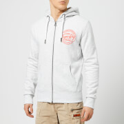 Superdry Men's Ticket Type Zip Hoody - Ice Marl