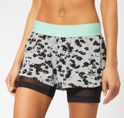 adidas Women's Iteration 2-in-1 Shorts - Black