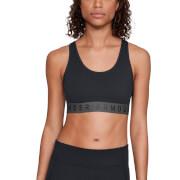 Under Armour Women's Favourite Cotton Everyday Sports Bra - Black
