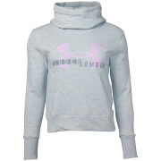 Under Armour Women's Cotton Fleece Sportstyle Logo Hoody - Grey