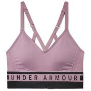 Under Armour Women's Seamless Longline Sports Bra - Purple