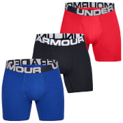 Under Armour Charged Cotton 6 Inch 3-Pack Boxerjocks