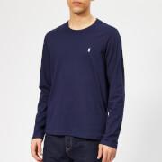 Polo Ralph Lauren Men's Long Sleeve Liquid Jersey T-Shirt - Cruise Navy