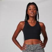 MP Women's Power Longline Sports Bra - Black