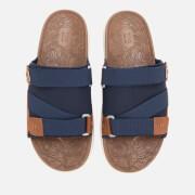 TOMS Men's Trvl Vegan Lite Sandals - Navy