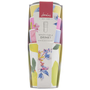Joules 4 Pack Garden Cups - Yellow