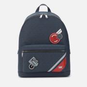 Michael Kors Men's Jet Set Backpack - Baltic Blue