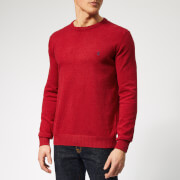 Joules Men's Jarvis Crew Neck Knit - Red Marl