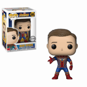 Figura Funko Pop! - Iron Spider (sin máscara) - Vengadores: Infinity War