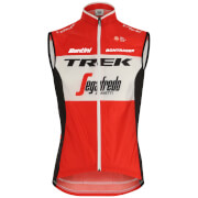 Santini Trek-Segafredo 2019 Fine Light Wind Gilet