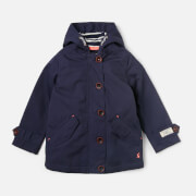 Joules Girls' Coast Hooded Jacket - French Navy