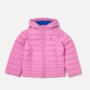 Joules Girls' Kinnaird Packable Jacket - Light Pink