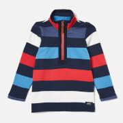 Joules Boys' Dale Half Zip Sweatshirt - Blue Red Stripe