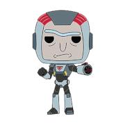 Figurine Pop! Rick & Morty - Rick en Armure de Purge