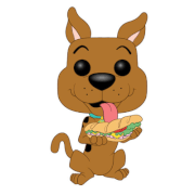 Scooby Doo - Scooby Doo w/ Sandwich Animation Pop! Vinyl Figure