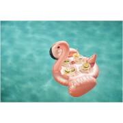Sunnylife Inflatable Flamingo Family Drink Holder - Rose Gold